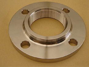 Nickel Alloy 200 Threaded Flanges